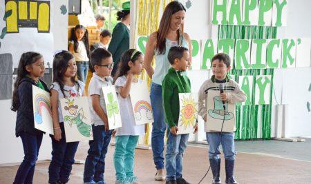 El día de San Patricio se celebró en el Colegio Lacordaire