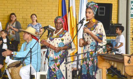 Lacorderianos conmemoran el Día de la Afrocolombianidad